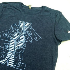 2 colour discharge print for Shopify
