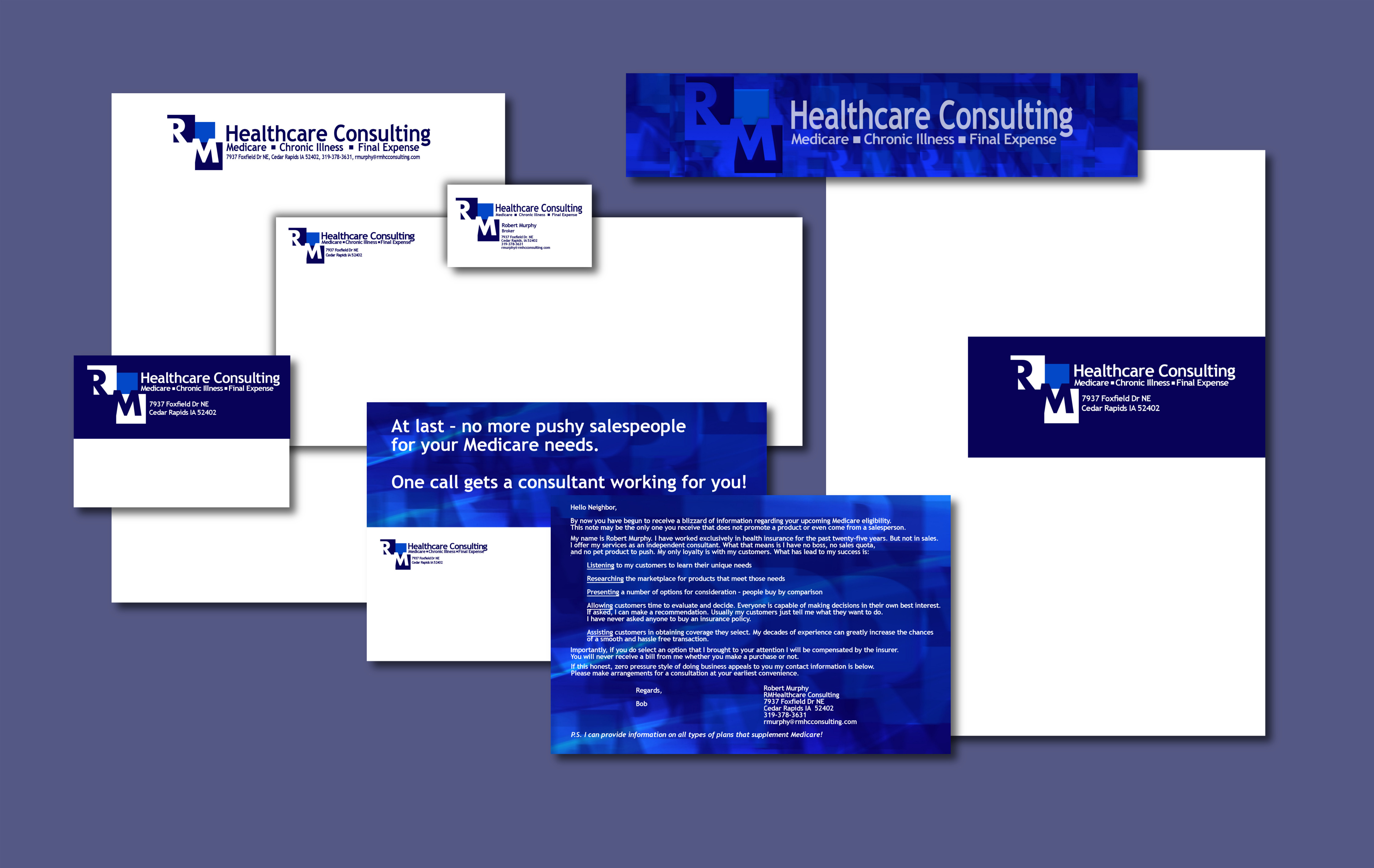 Identity , RM Healthcare Consulting