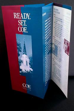 Brochure, Coe College