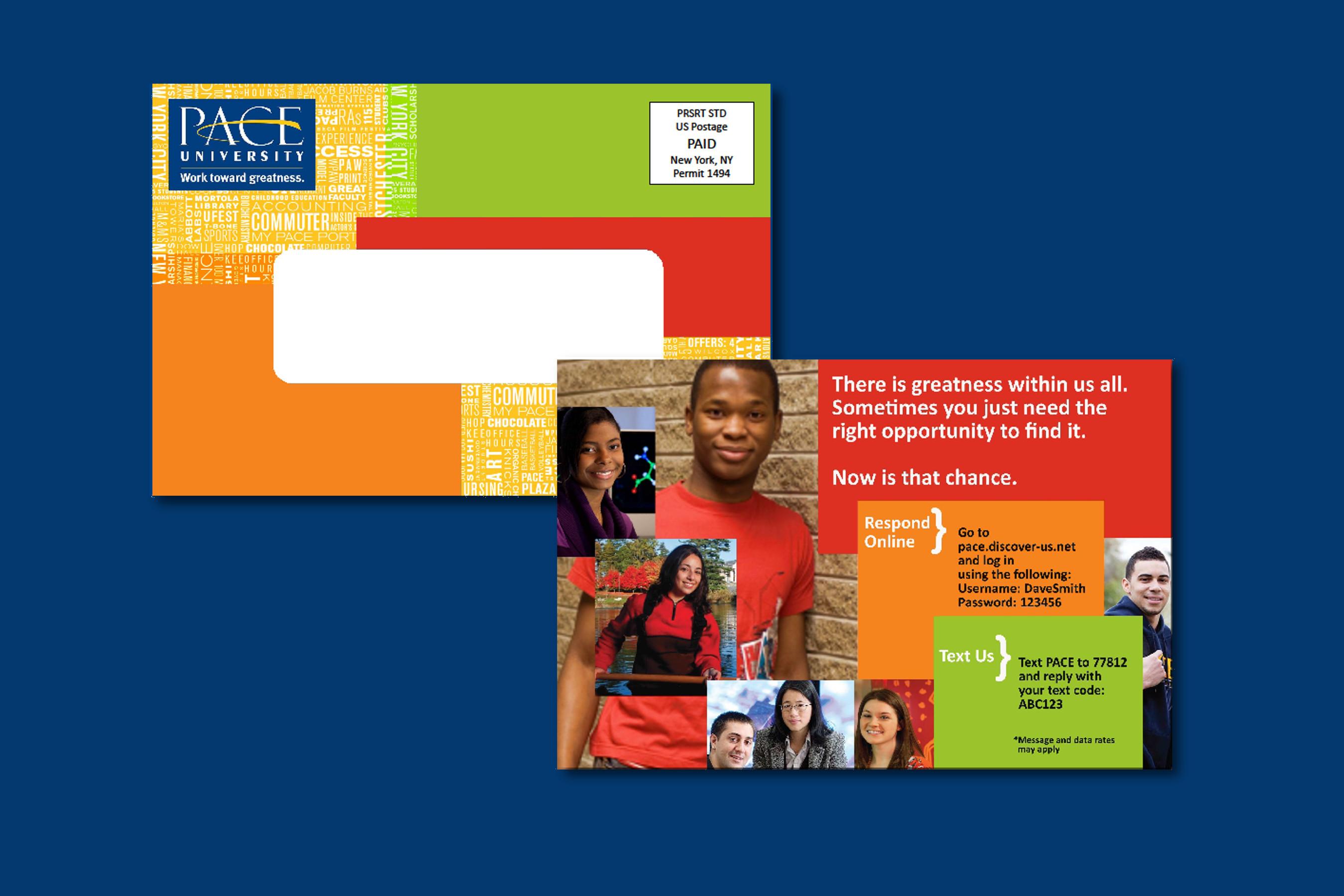 Postcard Idea, Pace University