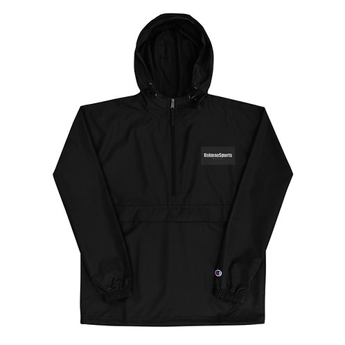 Holman Sports Embroidered Champion Packable Jacket