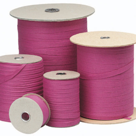 Pink Tape 10mm x 30m (33yds) Ideal for securing bundles of documents (717002)