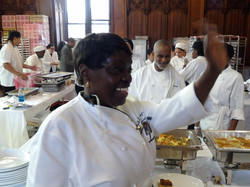 Chef Jacqueline and Team