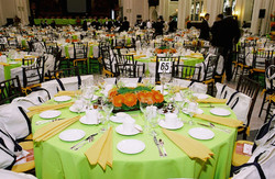 Banquet Tables and Staff