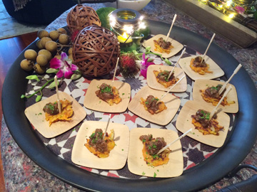 Hors D'Oeuvre Passing Tray 1