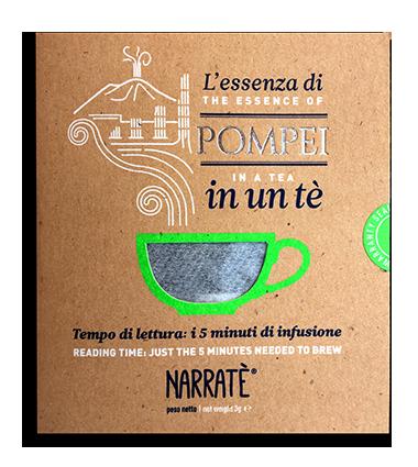 L'essenza di Pompei in un tè