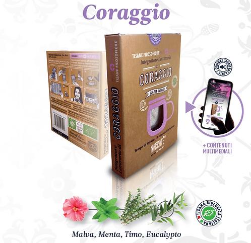 CORAGGIO   Tisane FIlosofiche Bio   Narratherapy
