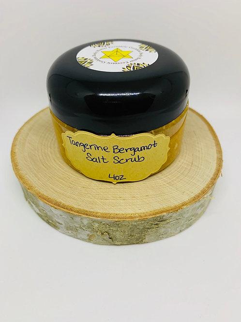 Tangerine Bergamot Salt Scrub