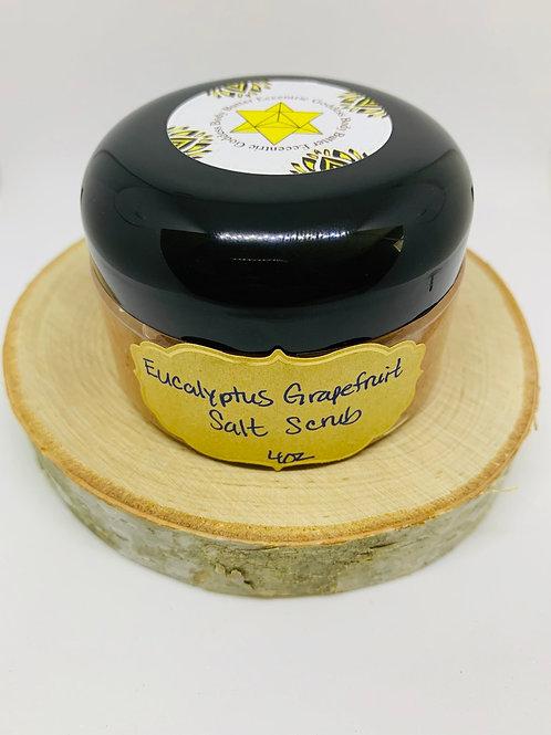 Eucalyptus Grapefruit Salt Scrub