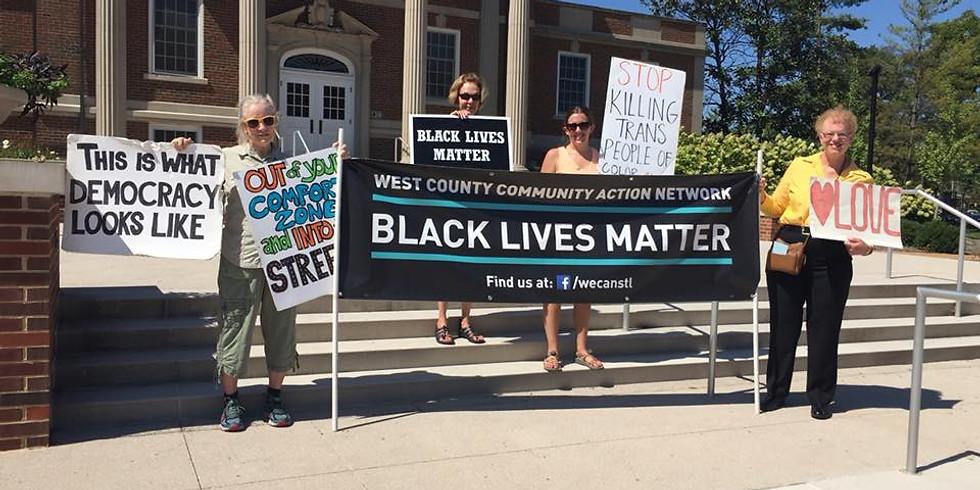 Kirkwood Black Lives Matter Vigil