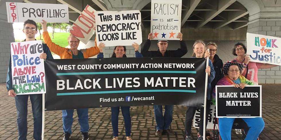 Manchester Black Lives Matter Vigil