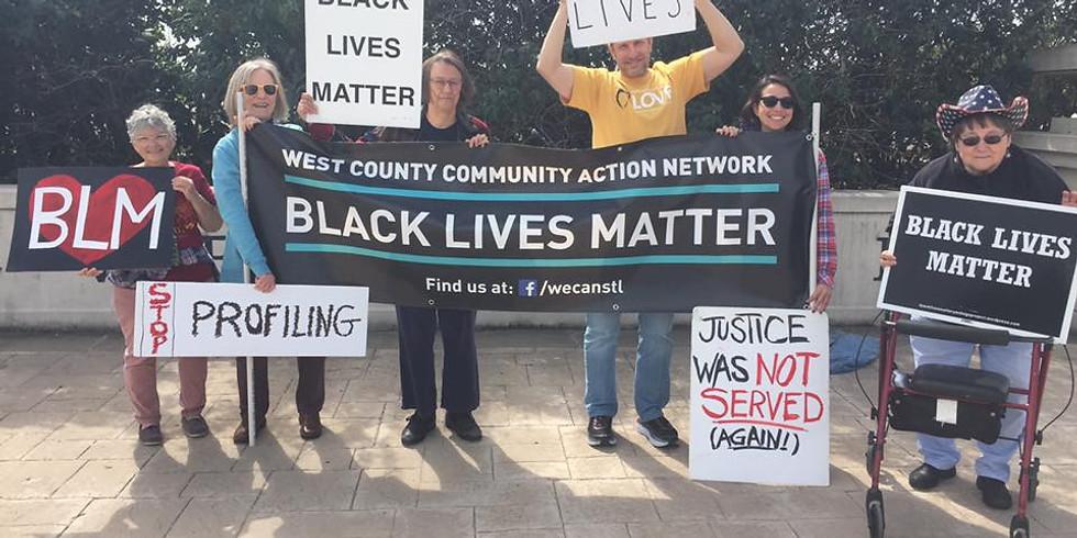 Creve Coeur Black Lives Matter Vigil