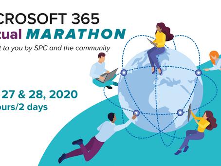 Michael Plettner beim Microsoft 365 Virtual Marathon