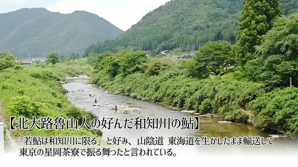 北大路魯山人も好んだ和知川の鮎