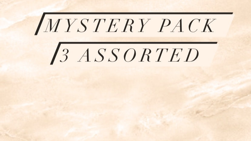 Assorted Mystery Pack 3