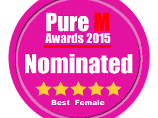 Nominated for Best Female Artist by PureM Magazine!