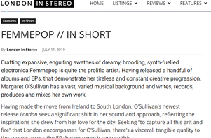 'London' EP Reviews: London In Stereo