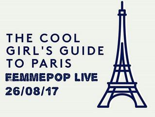 Femmepop Live in Paris.