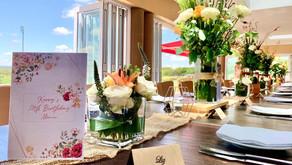 Elegant 50th Birthday Lunch