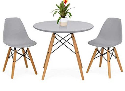 Eames Cafe Set - Grey