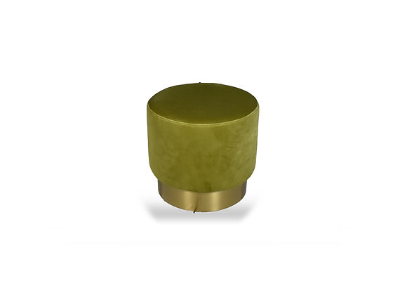 The Small Gold Ringer Olive Suede