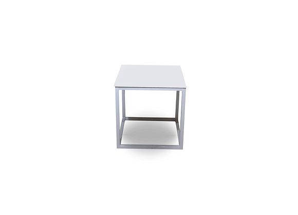 White Titan Side Table