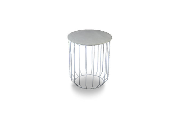 The White Holstan Side Table