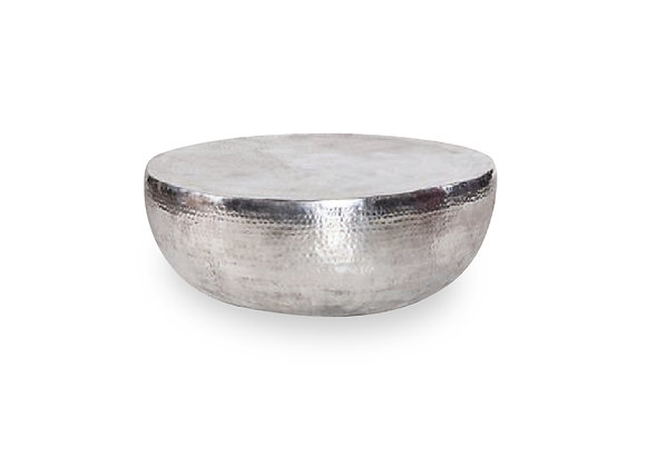 The Round Chrome Coffee Table