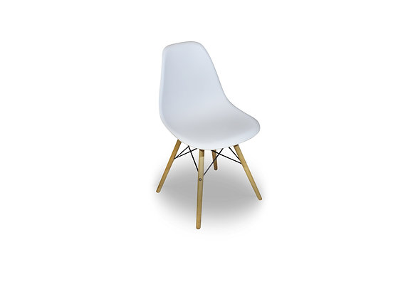 White Eames Cafe Chair