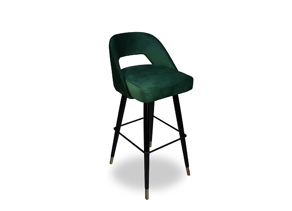 Victoria Bar Stool - Emerald Green