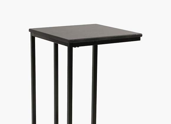 The U Shape Side Table Black
