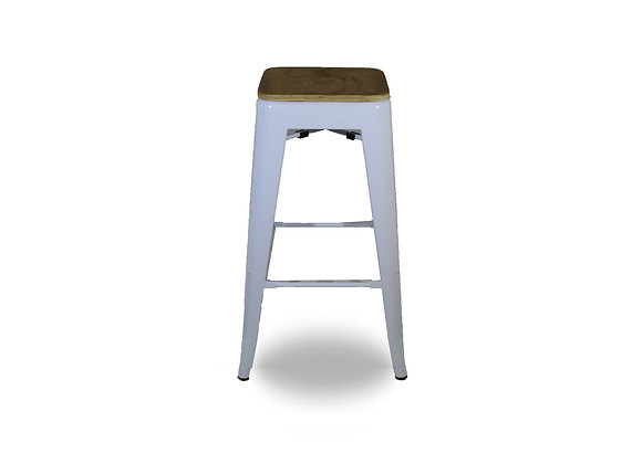 Cargo Bar Stool White