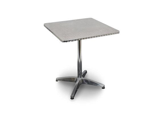 Cafe Table Square - Aluminium
