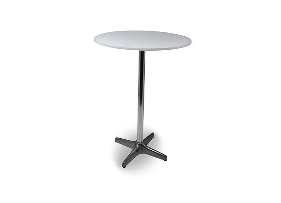 Cocktail Table Round - White