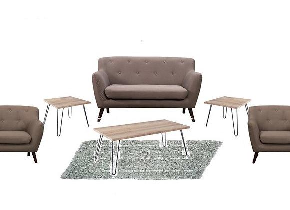 The Light Grey Alunda Lounge Pocket