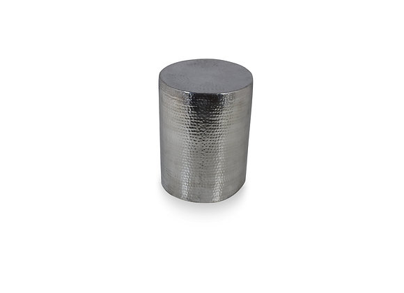 The Round Chrome Side Table