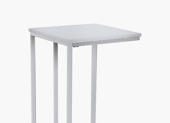The U Shape Side Table White