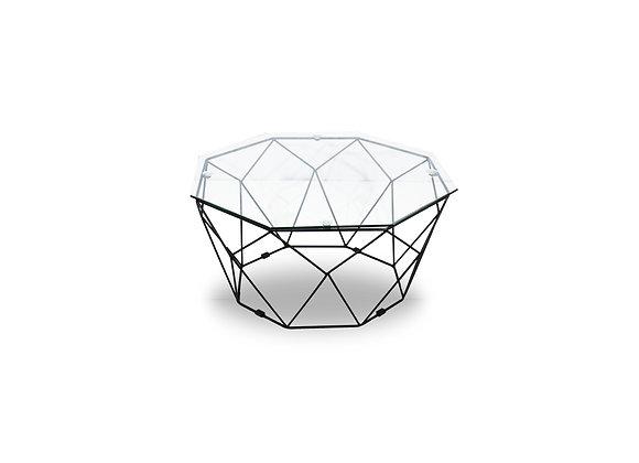 The Black Geometric Coffee Table