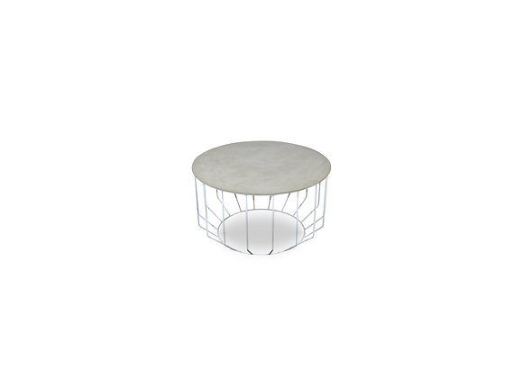 The White Holstan Coffee Table