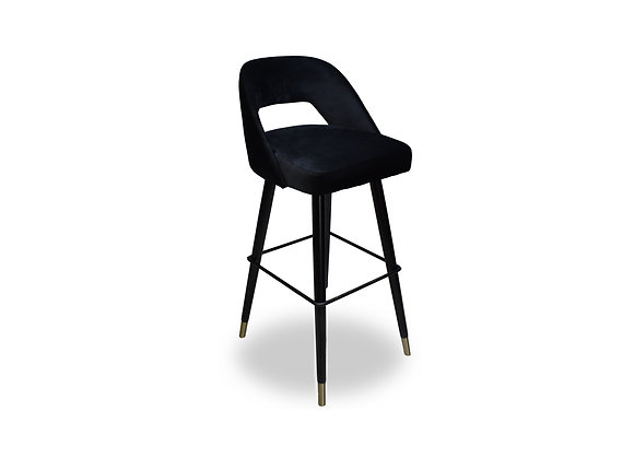 Victoria Bar Stool - Black