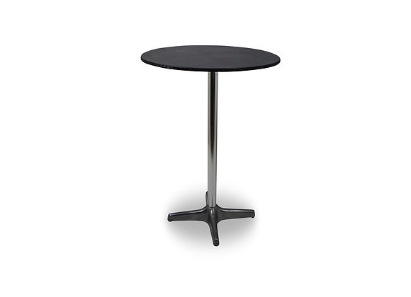 Cocktail Table Round - Black