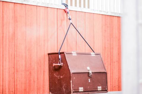 Hanger set for Gromming Box