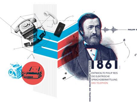 """""""Arbeit und Kummer"""" - Philipp Reis und die Entwicklung des Telefons"""