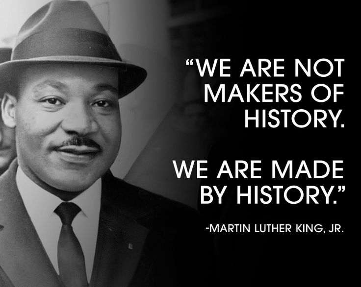 history quote MLK