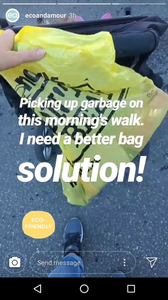 eco lifestyle, eco conscious, environment, garbage pickup, garbage, clean up, be green