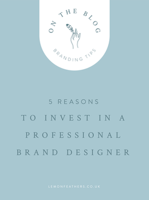 5 Reasons to Invest in a Professional Brand Designer