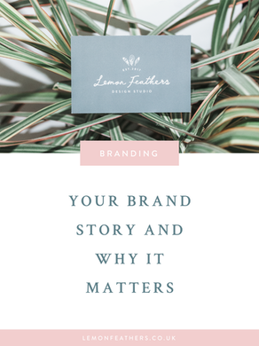 Your Brand Story & Why It Matters