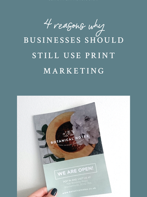 4 Reasons Why Businesses Should Still Use Print Marketing