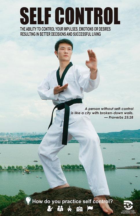 Self control Asian Poster