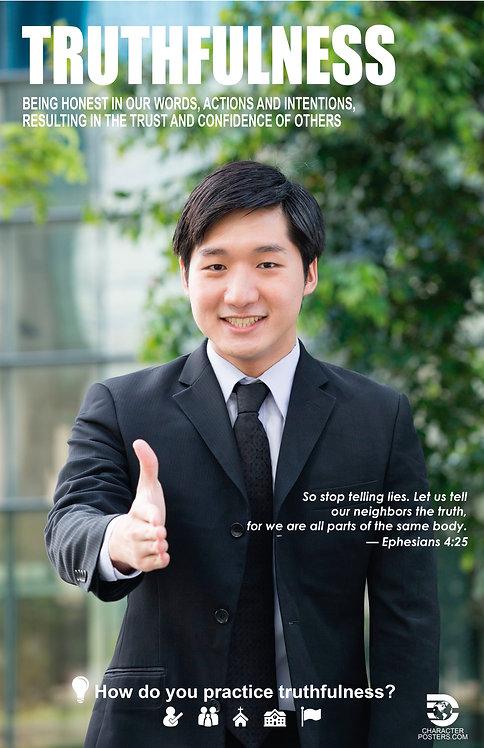 Truthfulness Asian Poster